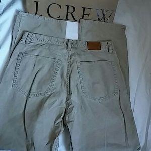 J Crew Corduroy Pants Sz 33/30