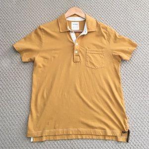 Billy Reid Other - SALE! Billy Reid Polo Shirt • Mustard Yellow • EUC