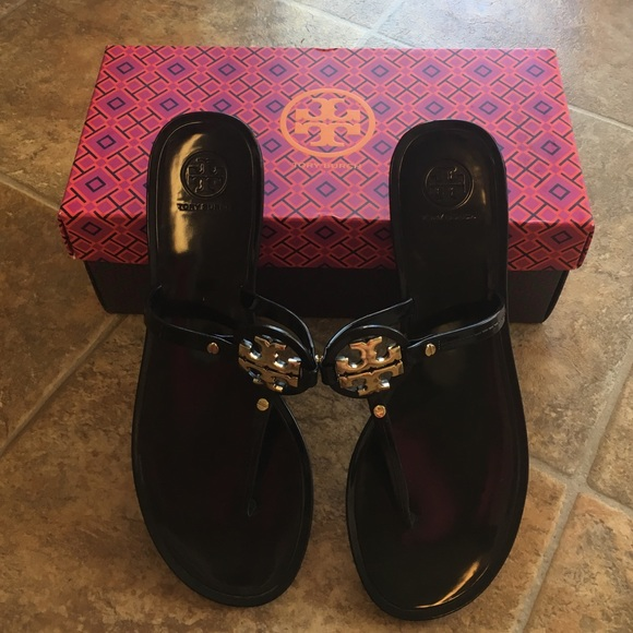 5c7abd373f520 Tory Burch Shoes - Tory burch Mini Miller Jelly Sandal - Size 9