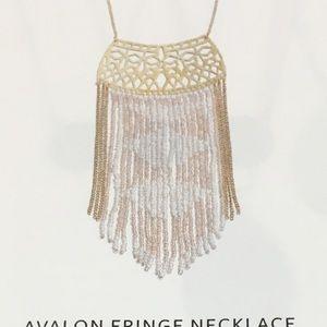 Stella & Dot Jewelry - AVALON FRINGE NECKLACE. HP