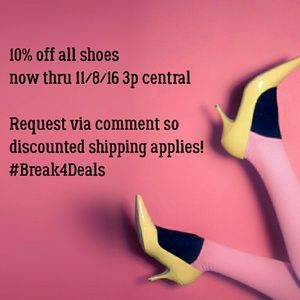 Shoes - 10% off ALL shoes