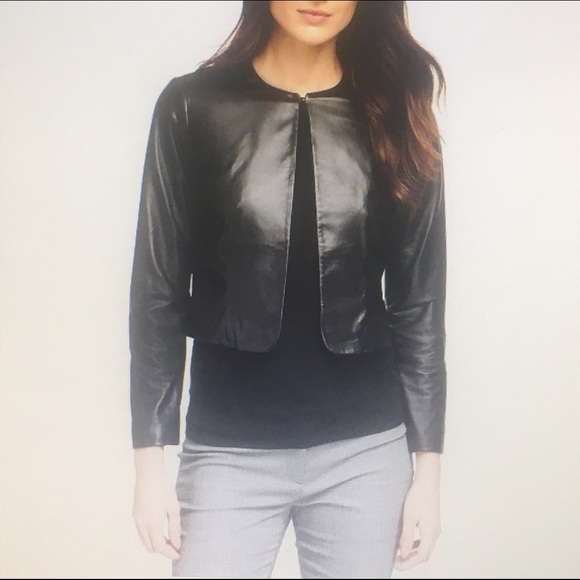 ce0c4d489 Brooks Brothers Women's Leather Jacket