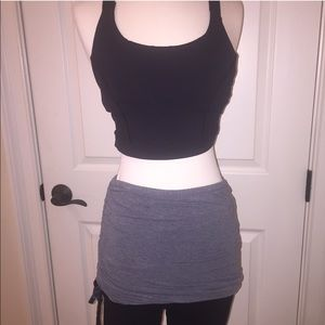 lululemon athletica Dresses & Skirts - Lululemon light gray one size skirt wrap