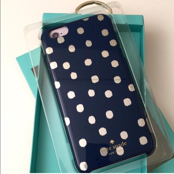 newest f436f 644ba Kate Spade iPhone 6 Plus Case NWT