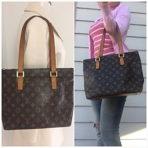 Authentic Louis Vuitton Cabas Piano tote bag