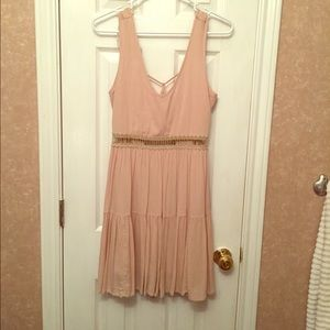 Paper Crane Dresses & Skirts - Paper Crane Dusty Rose Strappy back dress