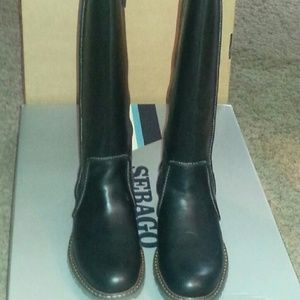 Sebago Shoes - Sebago knee high boots - waterproof