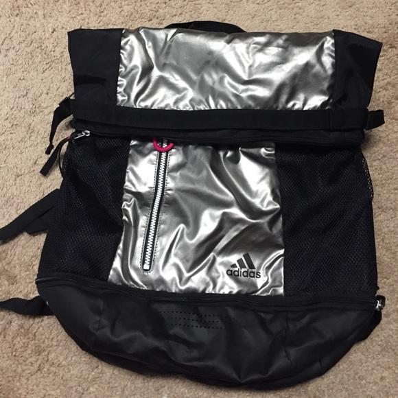 Adidas Handbags - Adidas women s athletic backpack 2330559deb8a5