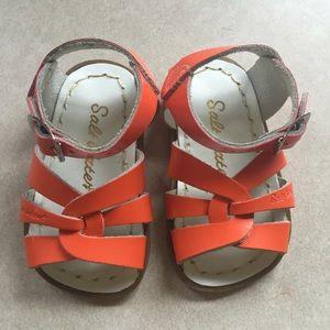 Salt Water Sandals by Hoy Other - Bright Orange Salt Water Sandal: Infant size 3