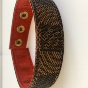  Vintage Chic Louis Vuitton Snap Cuff Bracelet