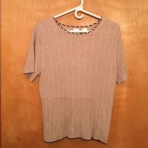 Emma James Sweaters - EMMA JAMES by LIZ CLAIBORNE SHORT SLEEVE SWEATER