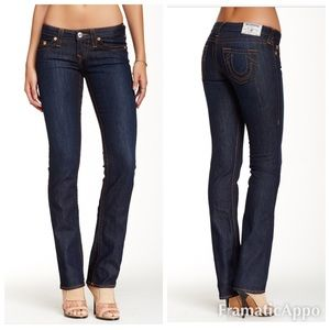 True Religion straight red Jeans