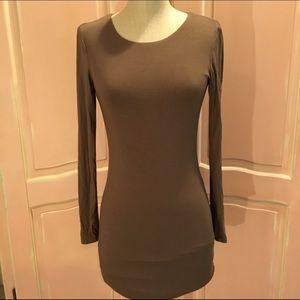 AKIRA Dresses & Skirts - ❤️AKIRA Chicago Red Label Brown bodycon open back