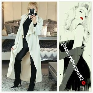 Jackets & Blazers - 💖LAST ONE💖Flowing Chic belted Duster