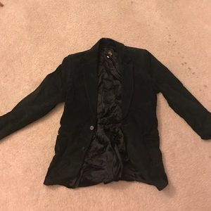 Scully Other - Sculls Black Suede Jacket Size 36 Great Condition