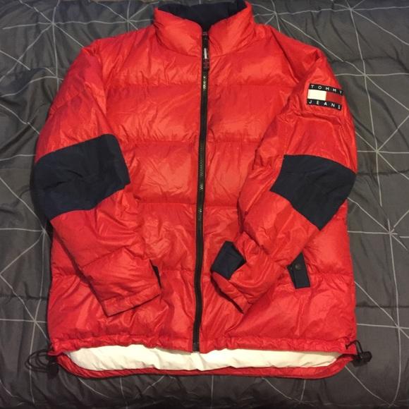 Tommy Hilfiger Jackets Coats Vintage Puffer Down Jacket Poshmark