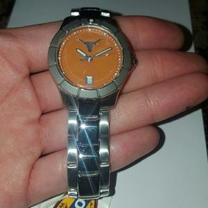 Never worn Fossil University of Texas watch