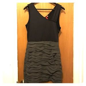 5/48 Brand Black and Green Dress