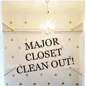 Other - huge closet clean out! lowest prices yet