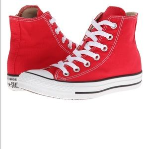 Converse Shoes - Converse Chuck Taylor All Star Red High Top (NEW)