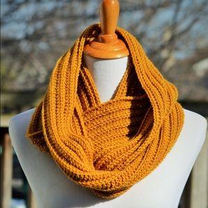 Handmade Wool Infinity Scarf