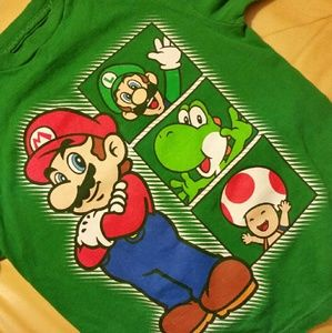 Nintendo Other - Super Mario t shirt sz 6/7