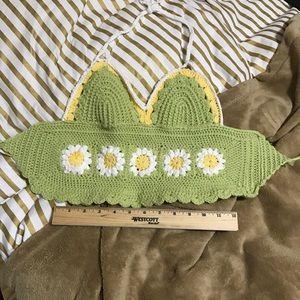 Tops - ⚡️Daisy Crochet Top
