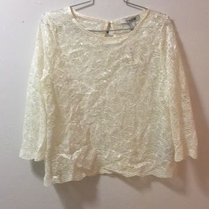 Forever 21 Tops - SALE!!! Lace Top