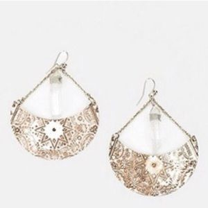 UO Sisters of the Moon Crystal Earrings
