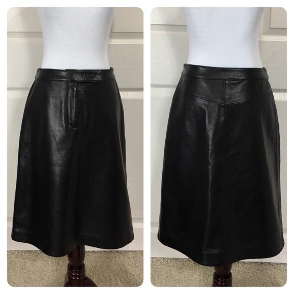 dd23fe32983 Tommy Hilfiger Skirts | 100 Leather Skirt | Poshmark