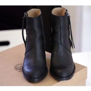 Black Acne pistol boots