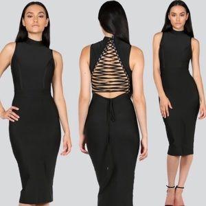Dresses & Skirts - Blush bandage dress