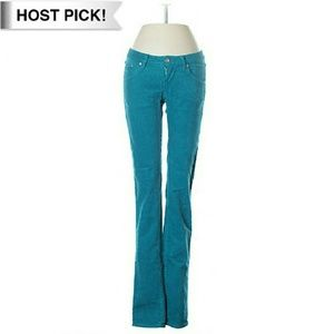 Wesc Pants - ??Host Pick?? Vibrant Blue Skinny Cords