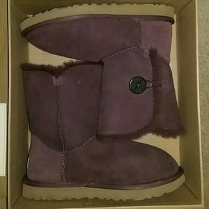 UGG Shoes - Purple UGG Authentic 1 of a Kind Ugg Bailey Button