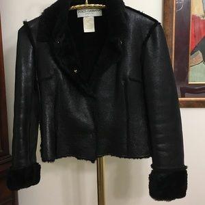 Dolce & Gabbana gorgeous leather jacket