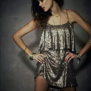 Lovers + Friends Sequin Party Dress