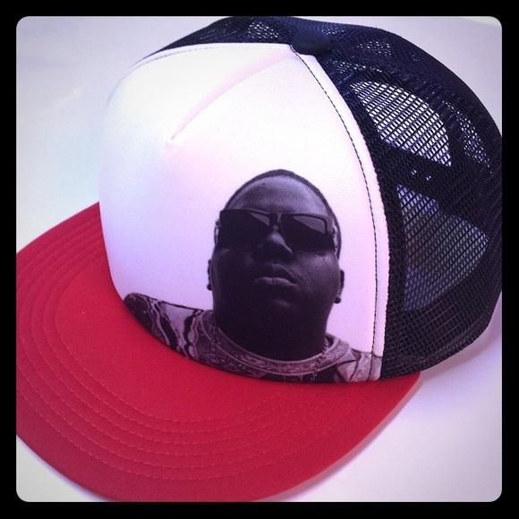 Notorious BIG BIGGIE SnapBack Trucker Hat. M 58214c80c6c79593fb018580 4633697c310b