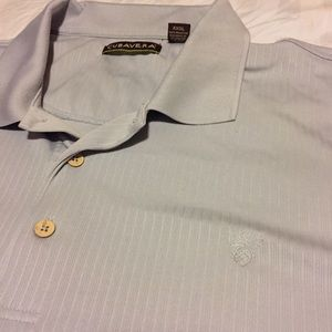 Cubavera Other - Cubavera Grey Polo - 4XLT