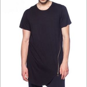 Other - Long zipper tee