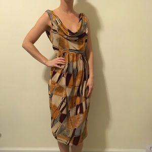 Karen Zambos Dresses & Skirts - Karen Zambos Vintage Couture Silk Printed Dress