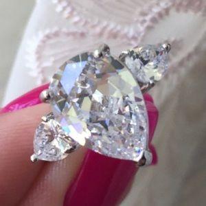 Leoninus Jewelry - 🏆HOST PICK🏆🍐Pear Cut Faux Diamond Ring