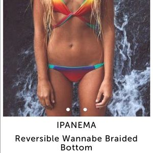 Ipanema Other - Ipanema Rainbow Reversible Bottoms Medium NWT