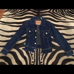 Levi's dark denim jacket.  Size XS.