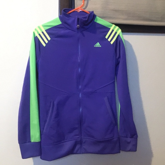 3527d4daf428 Adidas Jackets   Blazers - Adidas Track Jacket women s Small Rare colors