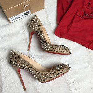 $900 Christian Louboutin FIFI Spike 100mm 37 (7)
