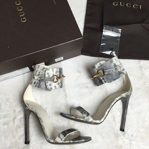 $500 GUCCI URSULA SANDALS 36 6 6.5