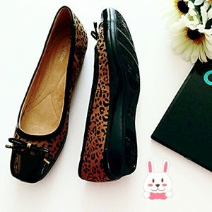 Naturalizer Shoes - 🐰Naturalizer Animal Print Ballet Flat