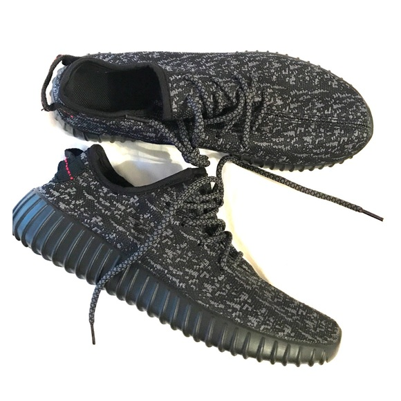 Yeezy zapatos hombre  adidas Boost 350 negro pirata poshmark