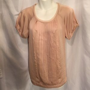 Simply Vera Wang pleated blouse