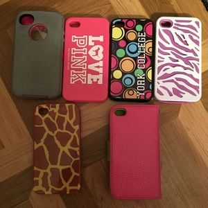 Accessories - iPhone 4, 5S & 6S Cases - Good Conditions